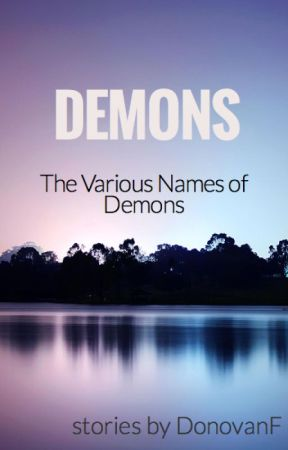 The Names of Demons by DonoBrai