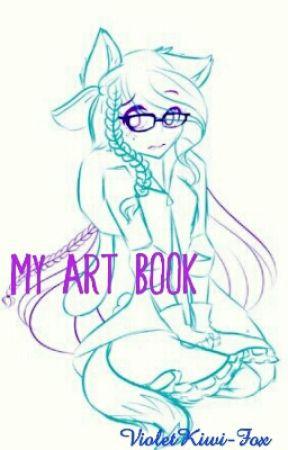 My Art Book by doddling_foxx