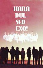 Hana,dul,sed EXO!  by Baeklips