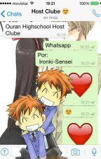 Ouran Highschool Host Clube- Whatsapp by Ironki-Chan