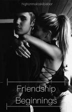Friendship Beginnings • HB x JB• by highonmaloskibieber