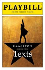 Hamilton Texts by MarquisdeBaguette