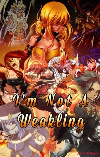 I'm not a weakling
