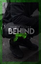 Behind you //Marichat// TERMINADA by -JAZVAL-