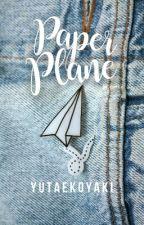 paper plane | yuta  by -soulwrites