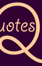 qoutes by troubleofmayn