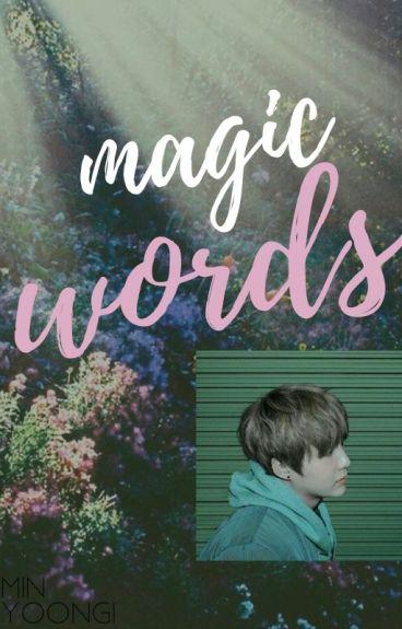 magic words |m.yoongi