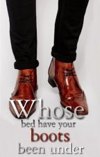 Whose bed have your boots been under by CherryEssel