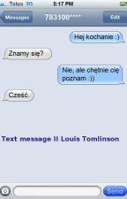 Text message II Louis Tomlinson by BlackStarinme