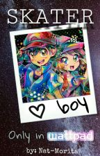 Skater Boy ❤ SatoSere (Amourshipping)  by Nat-Morita