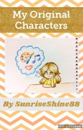 my OC book by SunriseShine88