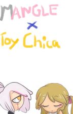 FNAFHS | Mangle x Toy Chica | Para Ed00chan ~CANCELADA~ by DannielEagle67