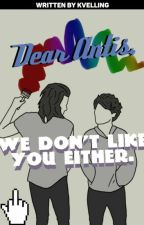 Dear Antis, We Don't Like You Either ➳ Aiden's Thoughts & Stuff by kvelling