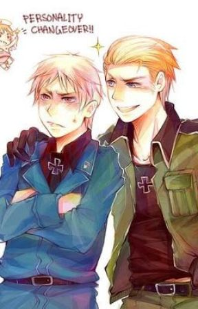If their personalitys switched (Germany x Prussia lemon) - Notes