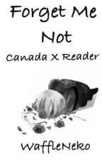 Forget Me Not (Canada X Reader) by WaffleNeko