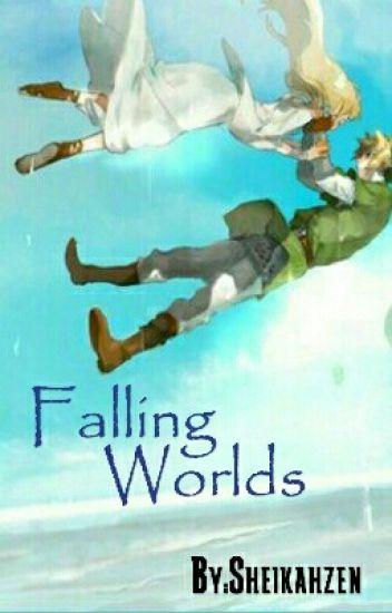 Falling Worlds; Zelink, Modern Magic AU (The Legend Of Zelda)