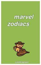 marvel zodiacs by wolfiehowlett