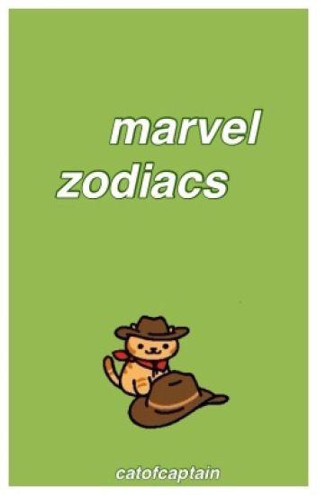 marvel zodiacs