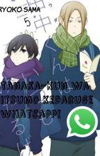 Tanaka-kun Wa Itsumo Kedaruge WhatsApp© by RyokoSama