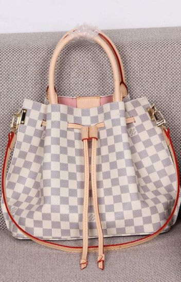 62dc3b7c565e Louis Vuitton Damier Azur Canvas Girolata Tote Bag N41579 ...