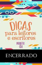 CDE - Dicas Para Leitores e Escritores by ProjetoCDE