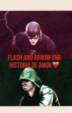 Arrow  and flash ⚡️ by novelasdeflash