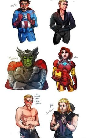 Avengers Preferences - You get stressed with school - Wattpad