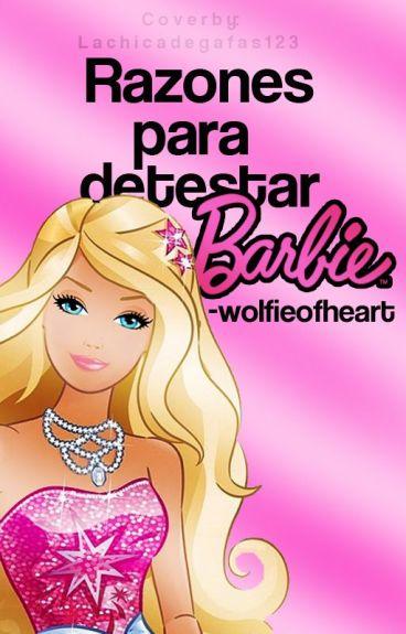 Razones para detestar Barbie