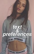 text + preferences ◇ ogoc & magcon  by sextdolan