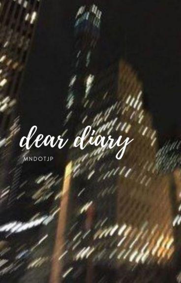 dear diary | kozume kenma x reader