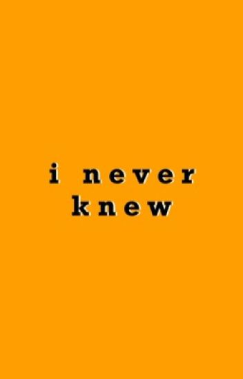 I Never Knew | Soonhoon