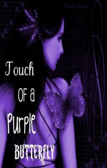 The Touch Of A Purple Butterfly