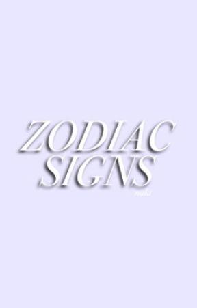 zodiac signs ♡ by velvetfrnk