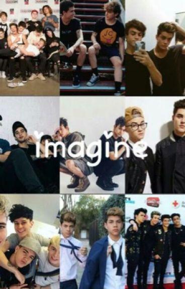 Imagine[magcon,dolan twins ....]