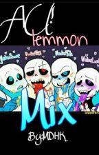 AU! Lemmon Mix √undertale by JackyDirtyEyes