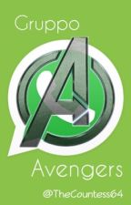 Gruppo Avengers by TheCountess64