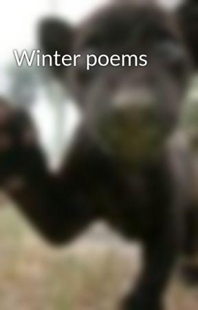 Winter poems by sunnysideup2u