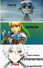 Top 10 hottest male cartoon characters by luvgorillaz123