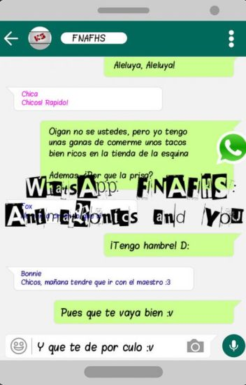 WhatsApp FNAFHS: Animatronics and you!
