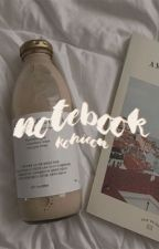 notebook; yoonmin by -murakami