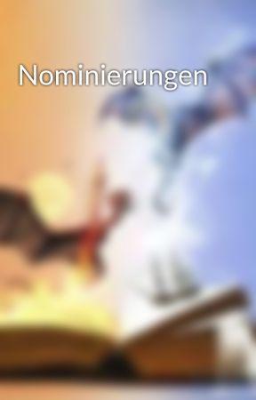 Nominierungen by drachenlady8