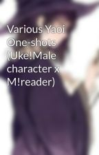 Anime Yaoi One-shots (Uke!Male character x M!reader) by Hisuimagi