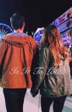 Is It To Late? by VoidStydia__