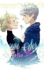 Zimowe Serca ||Jack Frost & Elsa|| by DreamerFromTheSky