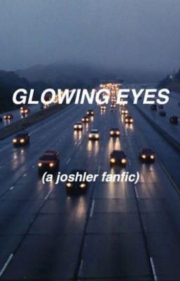 glowing eyes