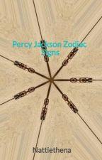Percy Jackson Zodiac Signs by Nattiethena