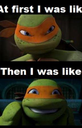 Teenage Mutant Ninja Turtles: A very hyper Mikey - Wattpad
