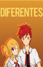 Diferentes#FNaFHS (Foxy X Chica) by elsa_yandere-chan