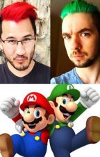Knights With Colorful Hair: A Markiplier x Reader x Jacksepticeye Fanfic: by Frostfall6