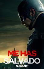 Me has salvado-Capitán América y tu (Steve Rogers) by nuriaarp